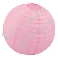Декор подвесной Шар (35см) розовый, фото 1