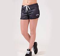 Шорты для фитнеса Madison Reversible - Black/White, фото 1