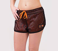 Спортивные шорты Madison Reversible Shorts - Black/Neon Orange, фото 1