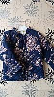 Красивая демисезонная курточка для девочки весна-осень 2-3, 4-5 лет. Турция! Детская верхняя одежда!