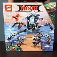 Конструктор sy 928 Ninja Ниндзя Ninjago Ниндзяго Страйдер - Водяной робот 748 дет., фото 1