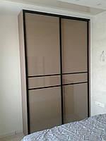 Двери купе с коричневым стеклом, фото 1