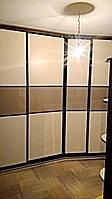 Двери купе с комбинированным стеклом