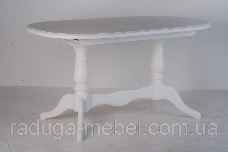 Стол деревянный Даниэль  ( белый  )