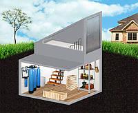 Погреб (кессон-погреб) 10000 л. из гидротехнического бетона водонепроницаемый