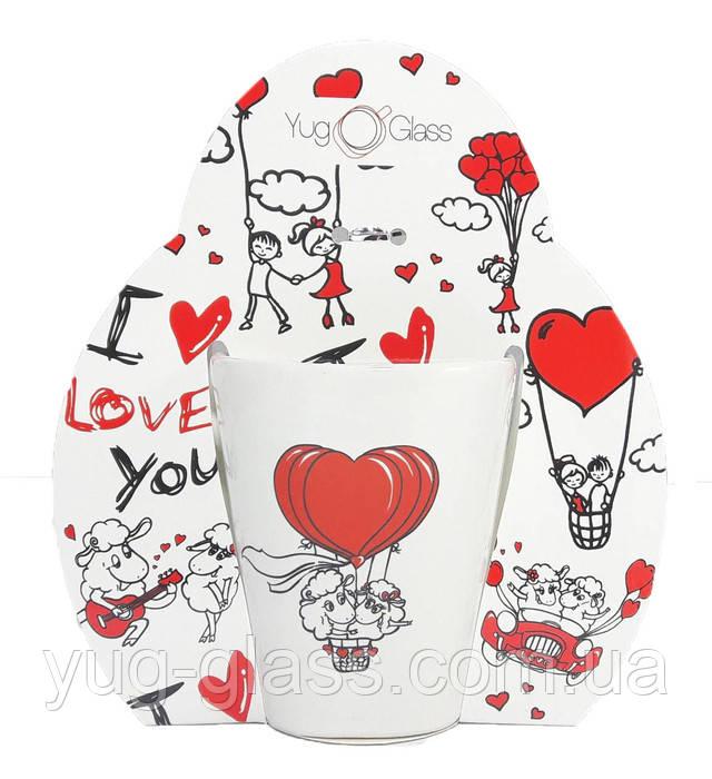 Кружка на подарок ко дню Святого Валентина