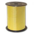Лента для шаров полипропиленовая желтая 0,5 см (500 м)