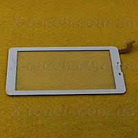 Тачскрин, сенсор HC184104N1-FPC V1 для планшета, белого цвета