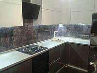 Стеновая панель с УФ -печатью Бетон, фото 1