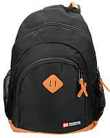 Рюкзак (ранец) школьный Enrico Benetti Eb54450001 Brasilia Black с отделом для ноутбука 32*45*18см