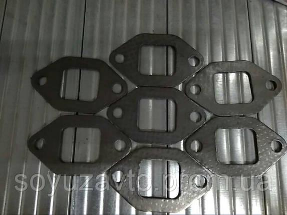 Прокладка выпускного колл.FAW1031 V=2.7 1031-1008055-Х2, фото 2