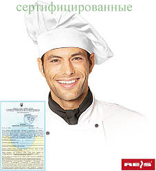 Ковпак для кухаря (кухарська шапка) CZCOOK-WRZ W