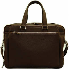 Кожаная сумка для поездок VATTO  коричневая flotar