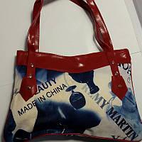 Женская цветная сумка с крепкими ручками, фото 1