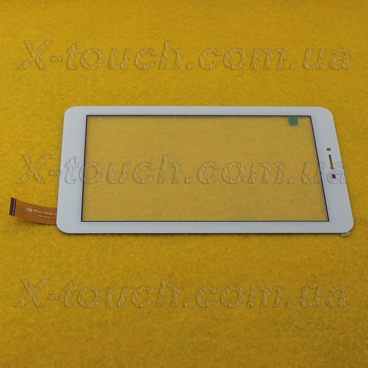 Тачскрин, сенсор FPCA-70A28-V01 Белый для планшета