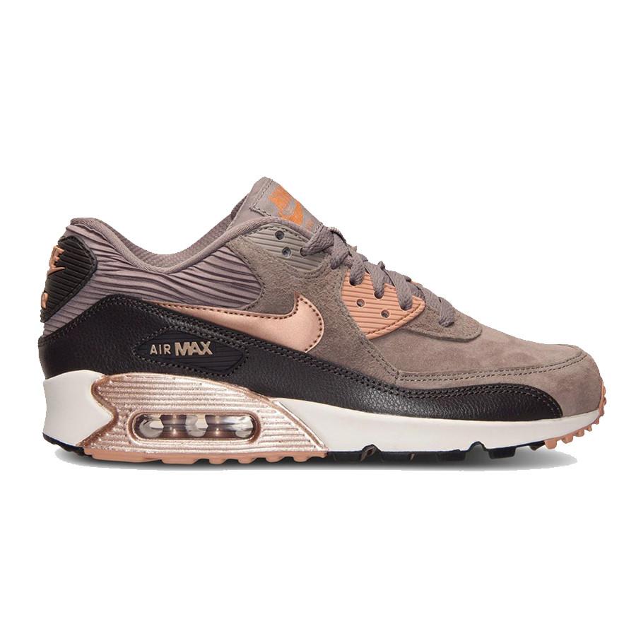 Женские кроссовки Nike Air Max 90 Iron Bronze, Копия, цена 1 499 грн ... 938b4b65739