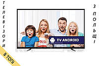 Телевизор Manta LED94901S Android TV 4K/Ultra HD 400Hz из Польши