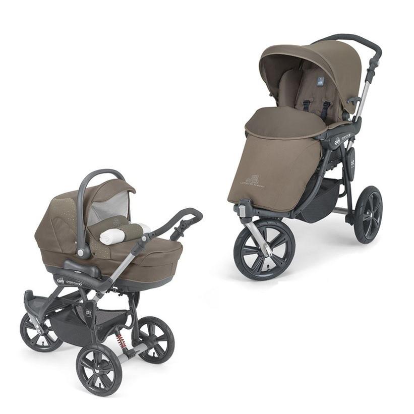 Детская универсальная коляска 2 в 1 Cam Cortina Duetto Х3 Evo