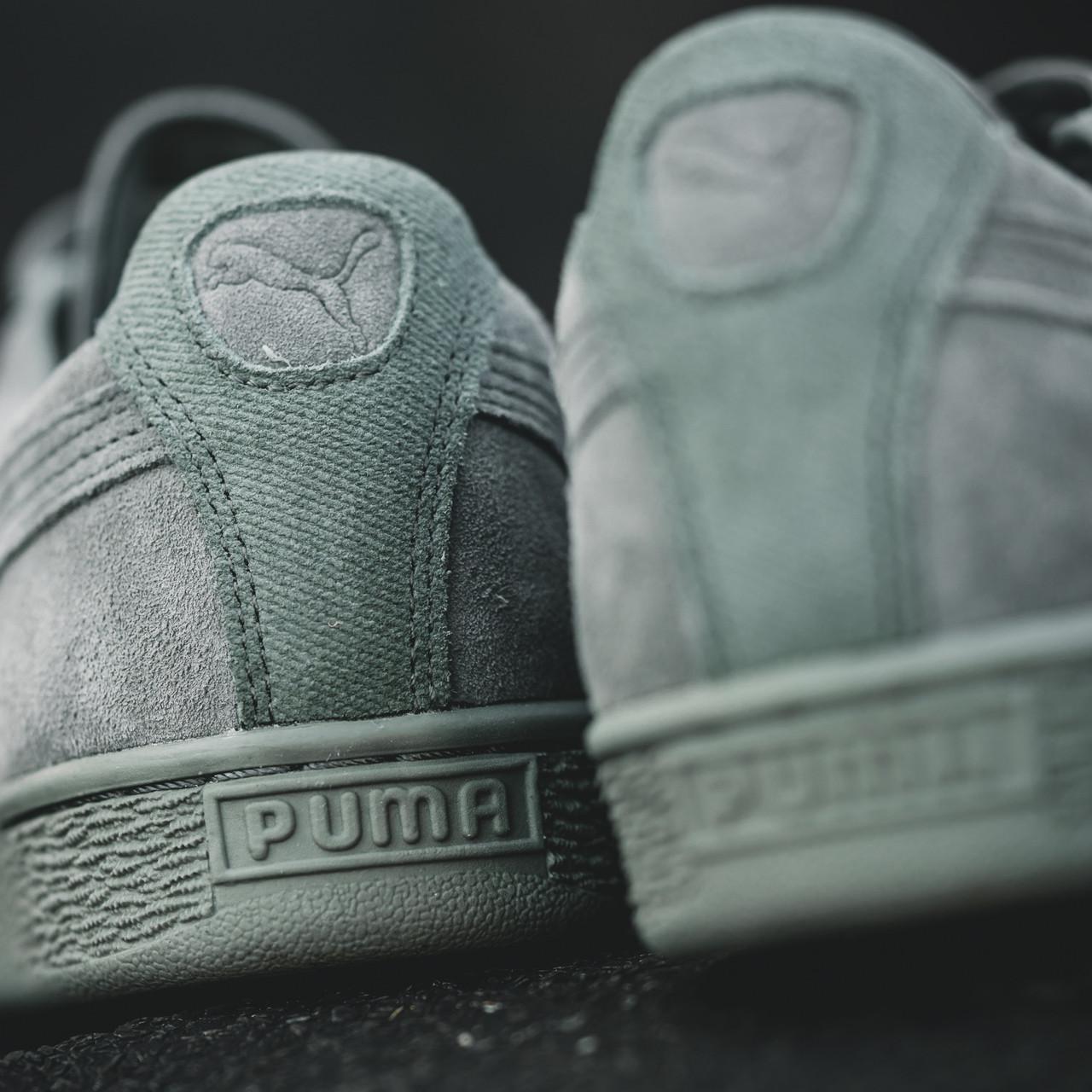 Мужские кроссовки Puma Suede Classic Tonal Agave Green 84a970087c464