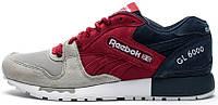 Мужские кроссовки Reebok GL 6000 SNE Red/Grey/Blue