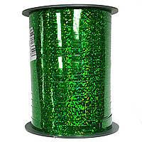 Лента голограммная зеленая 0,5 см (250 м)