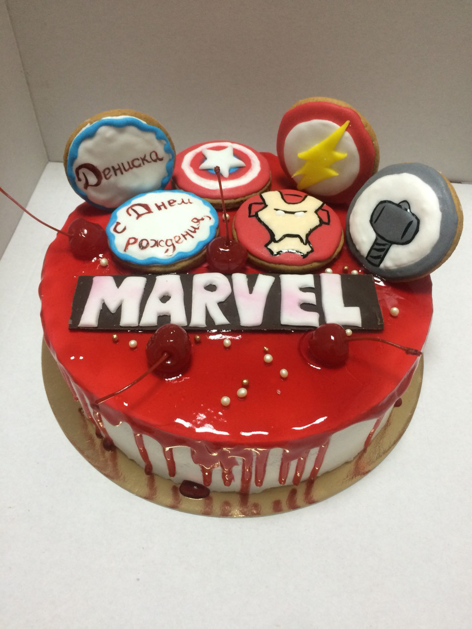 "Торт ""MARVEL"""