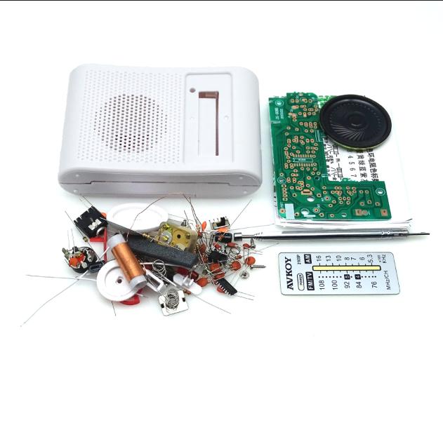 DIY CF210SP набор для создания радиоприемника FM радио