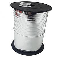 0,5 см (150 м) Лента для шаров серебро металлик