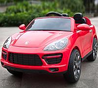 Детский электромобиль джип Porsche Cayenne,мягкое сиденье M 3191EBLR-3