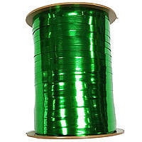 Лента металлик зеленая 0,5 см (250 м)