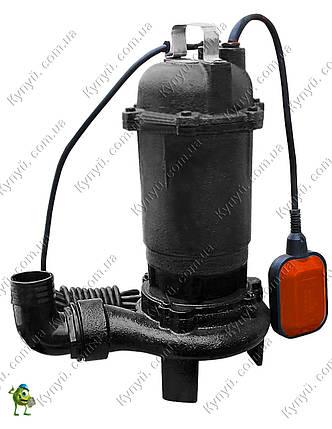 Насос фекальный Volks pumpe WQ 8-12G с режущим механизмом, фото 2