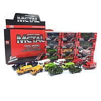 Грузовые машины металл 48шт в блоке12 видов