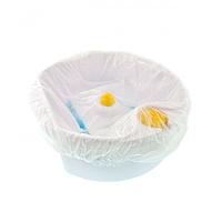 Чохол на ванночку для педикюра на резинці 50 на 70 см прозорий