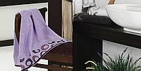 Банное полотенце ARION ЛИЛОВЫЙ (LILAC)