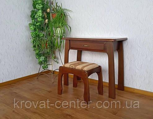 """Туалетный столик с пуфиком """"Для королевы"""" (массив - сосна, ольха, береза, дуб)., фото 2"""