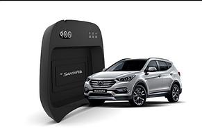 Штатное беспроводное зарядное устройство для Hyundai Santa Fe/Maxcruze (Kabis)