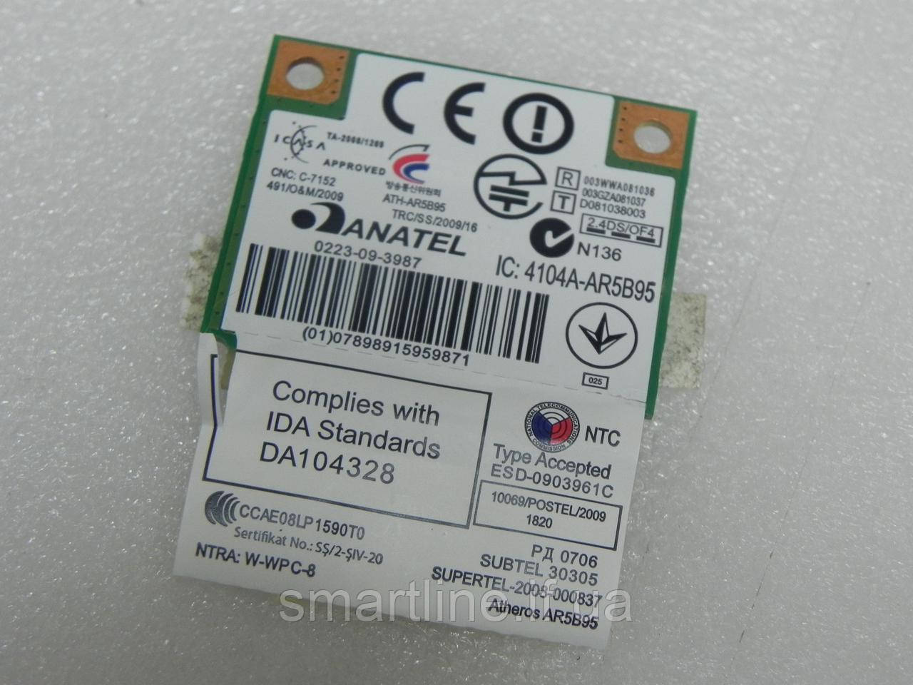 Адаптер wifi для ноутбука Anatel Atheros ATH-AR5B95
