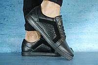 Модные мужские кожаные туфли