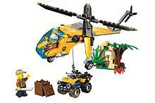 Конструктор 10709 Вантажний вертоліт дослідників джунглів 216 дет
