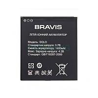 Заводская батарея на Bravis Solo акб для мобильного телефона.