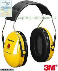 Протишумові захисні навушники OPTIME1 3M-OPTIME1 Y