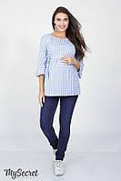 Джинсы-Skinny для беременных LEONA , синие , фото 1