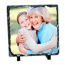 Фотокамень Small square-Medium SH25 (19х19 см) с Вашим дизайном