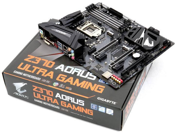 "Материнская плата Gigabyte Z370 AORUS Ultra Gaming s.1151-V2 DDR4 ""Over-Stock"""
