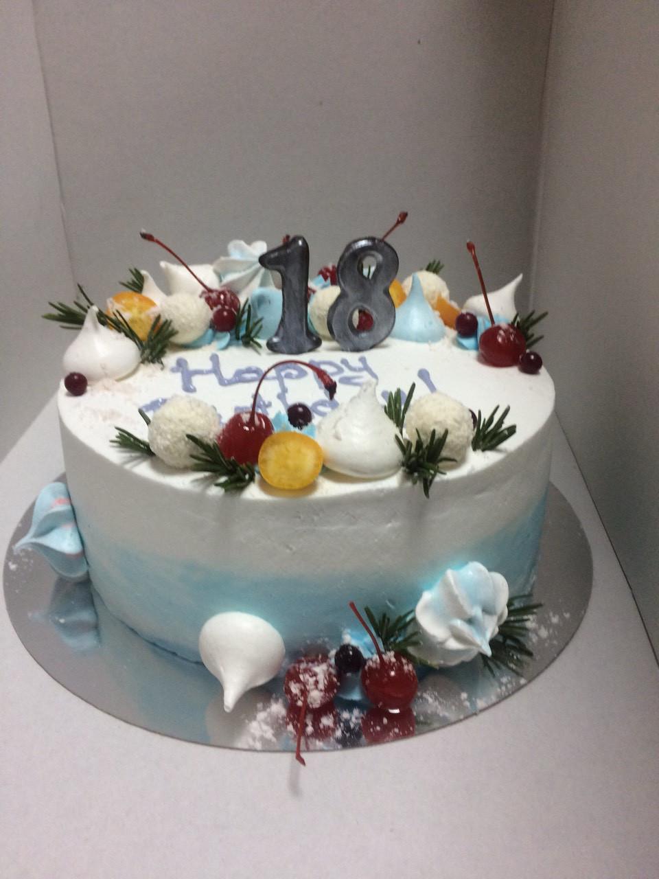 "Торт на заказ в стиле Нежные ""18"""