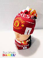 Шапка футбольного клуба Манчестер Юнайтед