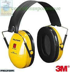 Протишумові навушники на каску Peltor™ OPTIME™ 3M-OPTIME1-S Y