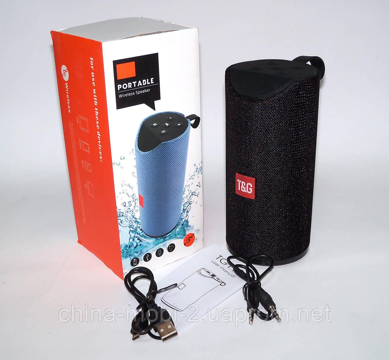Беспроводная колонка T&G TG113 в стиле JBL с FM/Bluetooth/MP3/USB/microSD,  черная  Интернет- магазин Mobi-China - 652897755 дрошиппинг опт оптом