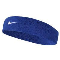 Повязка на голову Nike Swoosh Blue, фото 1