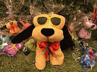 Игрушка подарок символ собака ПОЛОТЕНЦЕ